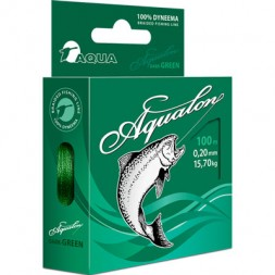Леска плетеная Aqualon Dark-Green 0.12 100м