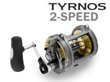 Катушка Shimano Tyrnos 30 LBS 2-SPEED